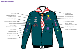 Scout-uniform